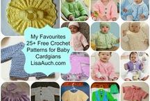 crochet Baby cardigan and sweater Patterns FREE / Free Crochet Pattern for Baby Cardigans