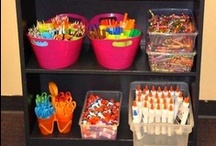 Classroom Organization / Ideas for how to organize the classroom! / by Kristen Smith