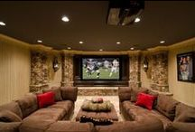 basement rooms / by Synthia Waggoner