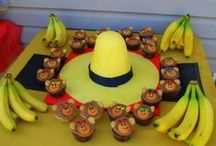 Curious George camping themed party / by Synthia Waggoner