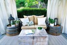 back deck / by Synthia Waggoner