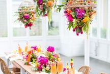 Bridal Shower Ideas / Planning a bridal shower is usually left up to the maid of honor and bridesmaids, but today anyone close to the bride can host. This list is a collection of invitations, shower games, decorations & more to get your started planning. #bridalshower #bridalshowergames #bridalshowerideas