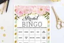 Bridal Shower Games / Bridal Shower Games are a great way to break the ice with your guests that have never met before. They'll have so much fun and the new friendships they create will carry over to your wedding day. #bridalshowergames #bridalshower #bridalshowerideas