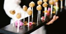 Wedding Food / Mmmm get some great ideas for your reception. Cocktail hour, dinner, Hors d'oeuvres and more!