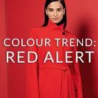 COLOUR TREND: RED ALERT / Incorporate the season's hottest colour into your wardrobe this autumn. Think cosy knits, slick tailoring, and head-turning pops of colour. Don't forget to pin your favourites...