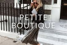 "PETITE BOUTIQUE / 5ft 3"" or under? Here's all the inspiration you need to dress for your shape. Don't forget to pin your favourites..."