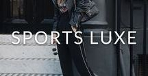 SPORTS LUXE / This season, it's all about athleisure. Think chic joggers, slouchy knits and modern trainers and get ready to embrace your sporty side.