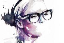 ART & INSPIRATIONAL QUOTES / by Susan Halliburton