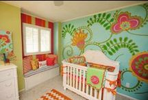 "Home Inspiration : Nursery / ""For every child who is born, the world begins again"". Gilbert Bécaud"