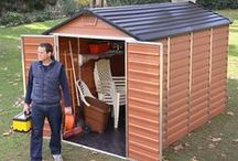 Plastic Garden Sheds / Plastic sheds offer a virtually maintenance free solution for your garden storage needs. With a variety of colours, sizes and styles to choose from, there's definitely one to suit any garden and exterior! View the ranges at: http://www.gardensite.co.uk/Plastic_Garden_Sheds/