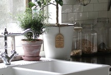 Sinks, Soaps and Sundries / ...  a farm sink for this cityfarmer ... yes please