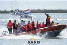Reddingbootdag / Jaarlijkse KNRM open dag (april.mei) die voor donateurs en belangstellenden wordt gehouden op alle reddingstations. / by KNRM Sea Rescue