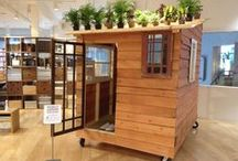 Kyohei Sakaguchi x MUJI USA / Self-built mobile house made by Kyohei Sakaguchi is displayed on the 2F at MUJI SOMA starting today until 8/28.   MUJI SOMA  540 9th St., San Francisco  Store Hours: M-Sat 10:30AM-8PM | Sun 11AM-6:30PM  Tel 415-694-5981