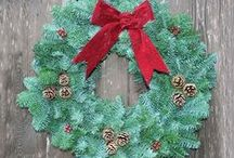 Christmas Wreaths & Garlands / Whether they're real and fresh or artificial, wreaths and garlands are great for bringing a touch of the outside into our homes of the Winter and Christmas periods. Our range of pre-decorated wreaths and garlands are great for adding features points to your home. Browse our range: http://www.gardensite.co.uk/Christmas/Christmas_Garlands_Wreaths_and_Swags/