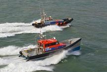 Reddingboten / Een overzicht van de vloot van KNRM reddingboten, veelal geschonken. / by KNRM Sea Rescue