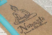 Journal | Meditation & Mantra / Inspiration for meditation, mantra or yoga journal.  / by Carmen