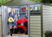 Metal Sheds / Metal sheds come in a variety of sizes and styles with plenty of choice to fit into your garden. Metal versions offer a long lasting and durable solution for your storage needs and normally come with a long guarantee as standard. View the full range: https://www.gardensite.co.uk/garden-buildings/garden-sheds/metal-sheds/