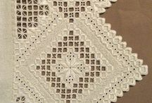 Hardanger embroidery / Norwegian