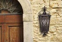 Lámparas exterior Savoy House / Lámparas de exterior de la prestigiosa marca Savoy House