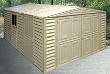 Car and Motorbike Garages / Whether it be to store a lot of equipment, a car or a motorbike, this range of timber, metal and PVC garages offer a choice of options for your storage needs. See full range: http://www.gardensite.co.uk/Garages/