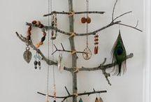Natur zu Hause / dekorien mit Materialien aus der Natur