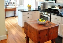 KITCHEN & Butler's pantry / Saving realistic kitchens I like and get motivated by viewing / by Mary Ruth