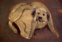 Animals in Art  / Historical and contemporary works of art depicting dogs and cats
