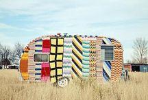 Airstreams campers and caravans / Vintage campers of all kinds