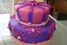 Birthday Cakes / My husband and I love to make cakes together. He is the decorator, I just make sure it tastes good.