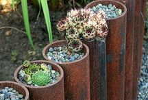DIY-For the Yard / Things to make to accessorize the lawn and yard
