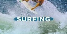 Surfing / Florida's Space Coast is the home of Cocoa Beach, the east Coast capital of surfing and hometown of world champion surfer Kelly Slater.