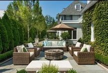 Outdoor Spaces / Patios, backyards, pergolas, outdoor kitchens and anything that extends your home outdoors.