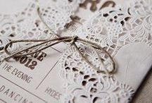 stationery : wedding