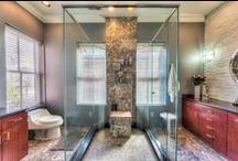 Bathrooms / Serene, spa-like bathrooms around the Columbus, OH area that we love and some that are just for inspiration.