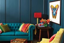 Interiors Colorful and bold / Interiors with bold or splashes of color