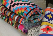 Blankets and quilts afghans and throws / Hudson bay Pendleton crochet knit quilt