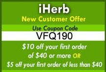 Iherb Picks / Here's  my special selection of IHerb Items. Remember to use VFQ190 for some extra discount