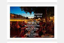 """Passion Musique / """"Le"""" festival parisien dédié au #jazz et aux musiques afro -brésiliennes. 23 & 24 Août 2014 sur la Péniche Marcounet - Quai de l'Hotel de Ville - Metro: Pont-Marie (Paris). www.sunnylivefestival.com"""