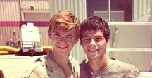 "The Maze Runner / ""Great. We're all bloody inspired."" ~~Newt"