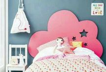 Girls rooms / idee per arredare e decorare la camera dei bambini / by New EVA