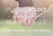 Marriage / Tips, ideas, blogs to inspire and encourage you in your marriage / by Proverbs 31 Ministries