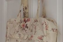 My patterns / Mes modèles de tabliers, sacs, trousses .... My patterns : bags, aprons, cases ...