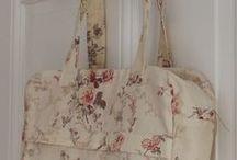 My patterns / Mes modèles de tabliers, sacs, trousses .... My patterns : bags, aprons, cases ... / by Atelier de Valentine
