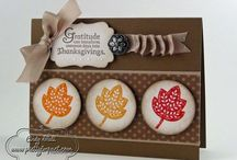 Fall/Thanksgiving Cards & Ideas