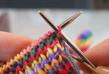 Knitting (a little crocheting too) / by Kelly Rivard Ives