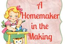 Homeschool {Home Ec} / Homemaking and life skills are so important for today's kids. So, I make it a point to teach some home ec skills in our homeschool. thissweetlifeofmine.com