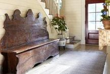 Entryways & Mud Rooms / by Eileen Terwilliger ~ Starry Girl Farms