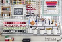 Future sewing room / by Kelly Rivard Ives