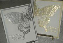 Gold & Silver card ideas