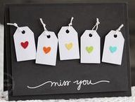 Miss You cards & ideas